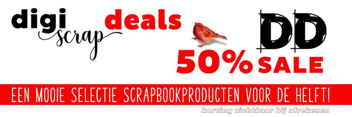 Digiscrap Digitaal scrappen - Digiscrap Deals - 50% korting