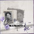Cherish sweet memories