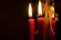 Rode kaarsen