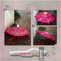 Paraplu / Umbrella in the rain ..