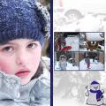 Sanne in de sneeuw 2