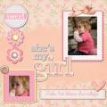 het lieve kleine meisje :D