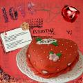 Valentine taart!