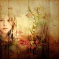 Rainbow Of Autumn Colors Girl
