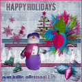 Dec.'15 – Happy Holiday , aan jullie allemaal !