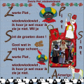 - Zwarte Piet ,wiedewiedewiet