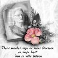 Voor moeder
