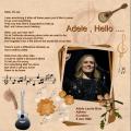 April 2017 - Adele , Hello