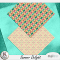 Summer Delight - Patterned papers