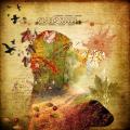 autumn - double exposure