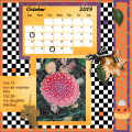oct.2019 calendar