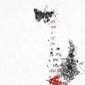 artsy butterfly