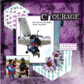 Sept. 2020- Courage - My plane jump 2007