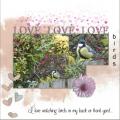 my Feb.2021 Mask Love birds ...