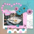 mijn feb.2021 -  Missing You ...  koffie drinken op het terras