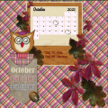 mijn Oct.2021 calendar lo
