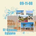 Egypte, Februari challenge template