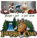 Voorkant boekje Plopsa Coo