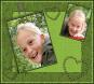 Lau in het groen