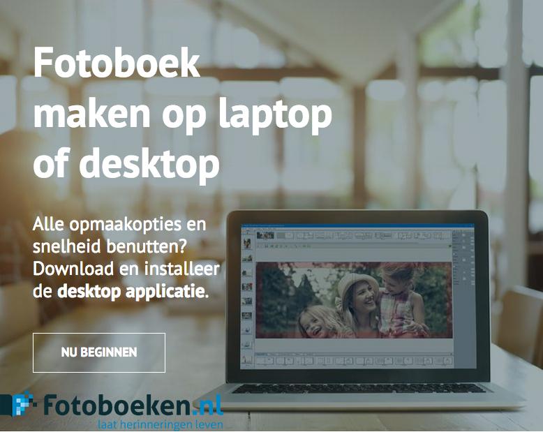 Fotoboek maken op laptop of desktop - fotoboeken.nl